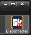 SkookumIDE disconnected